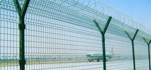 Perimeter Fencing, Metal Mesh Fence, For Land, Airport and Other Sites