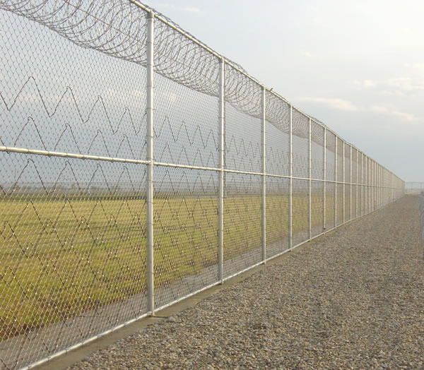 Chain Link Wire Fence For Field Fence Galvanized Chanin